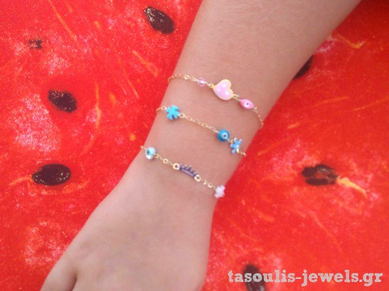 Καλοκαιρινά κοριτσίστικα κοσμήματα
