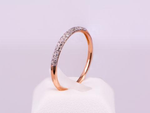 daxtilidi-seire-roz xriso-K1 8 diamantia