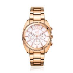 visetti crystal rose gold- stainless - stee-l bracelet