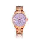 Visetti- Premiere- multifunction- rose gold- stainless- steel- bracelet
