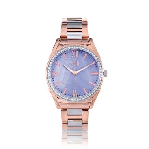 visetti- Symmetry- two- tone- stainless -steel- bracelet
