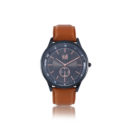 ρολό-ι visetti- glorious- brown- leather -strap