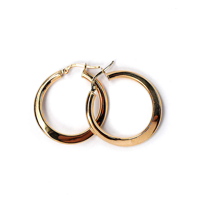 Σκουλαρίκια κρίκοι χρυσό Κ14 -7048  64bb06c979c
