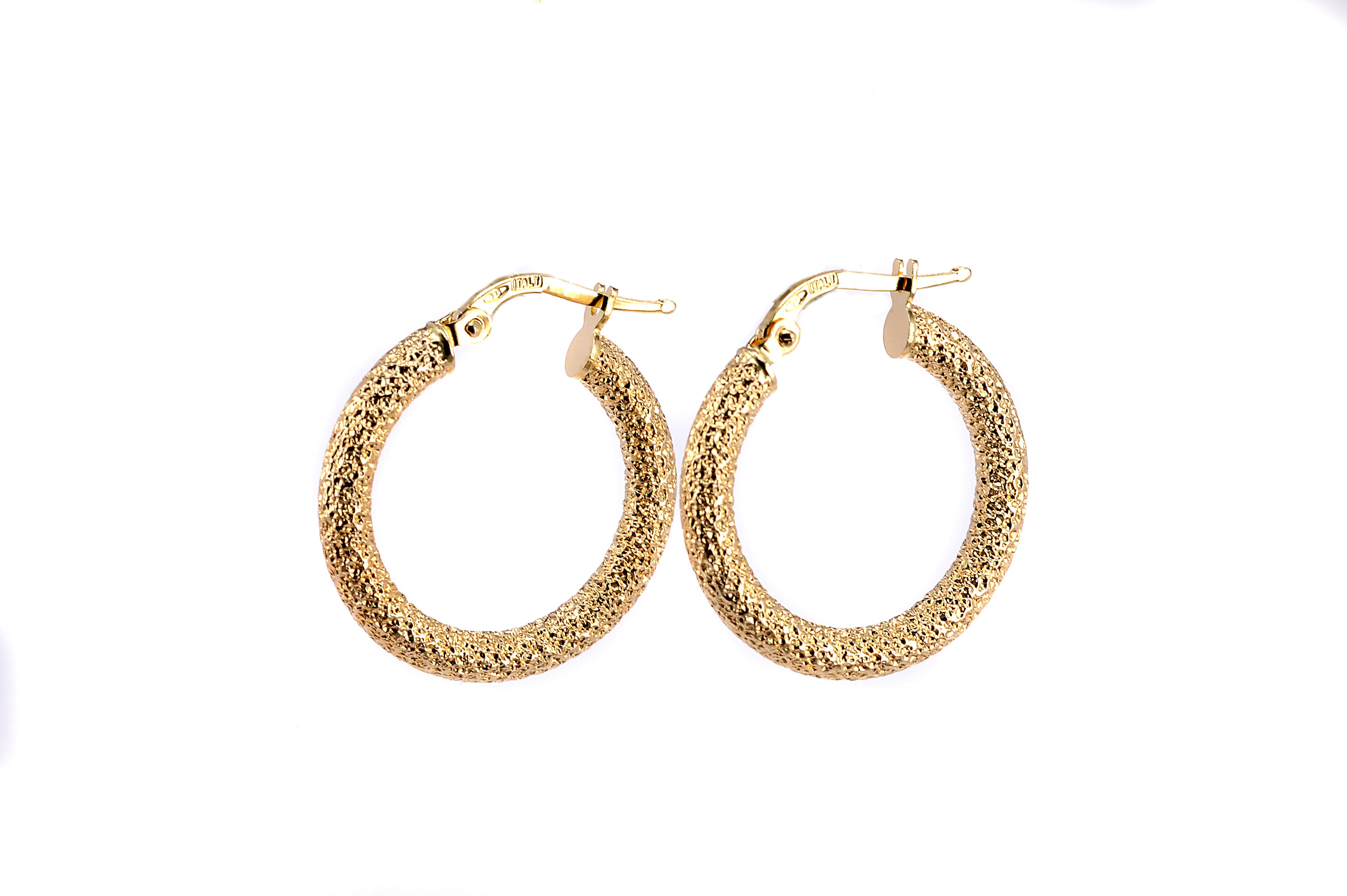 Σκουλαρίκια κρίκοι χρυσό Κ14 -7200  f177b33fedb