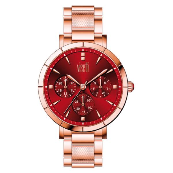 visetti capric- rose- bracelet- PE-972RDR