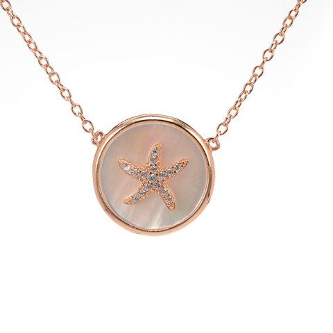 kolie-asterias-roz-epixriso-asimi-925-4536
